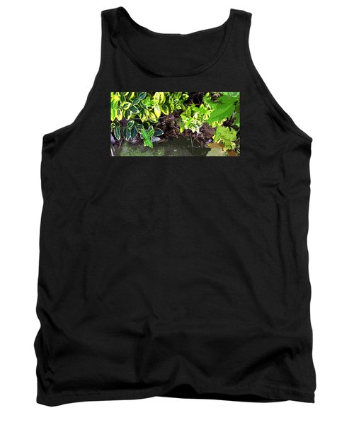 Tank Top featuring the photograph Summer Leaves by Spyder Webb