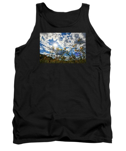 Tank Top featuring the photograph Summer Scene by Nikki McInnes