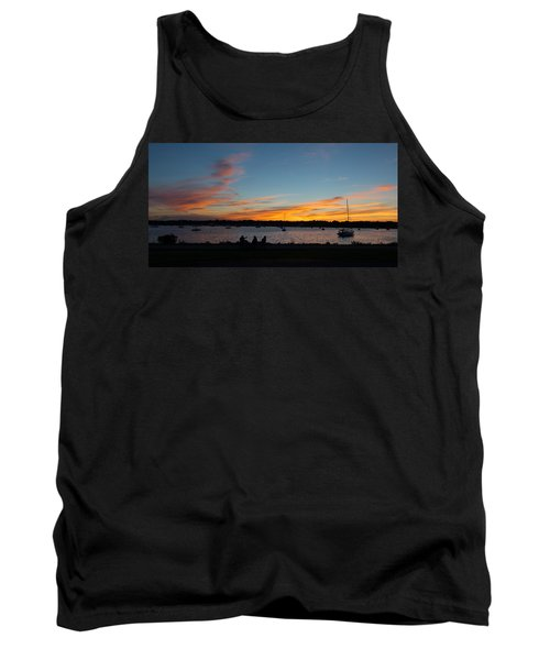 Summer Sunset With Friends Tank Top