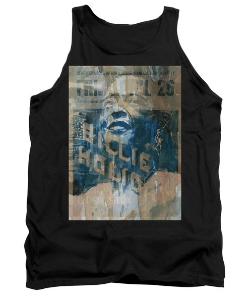 Tank Top featuring the painting Summertime by Paul Lovering