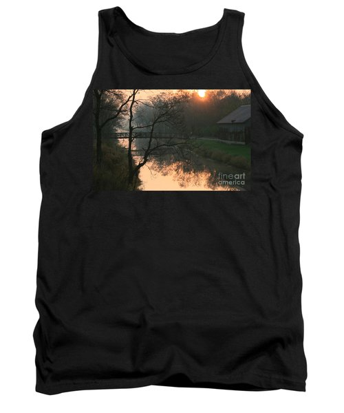 Sun Above The Trees Tank Top