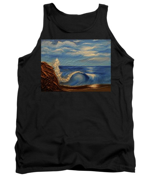 Sun Over The Ocean Tank Top by Angela Stout