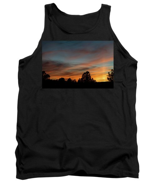 Sun Pillar Sunset Tank Top