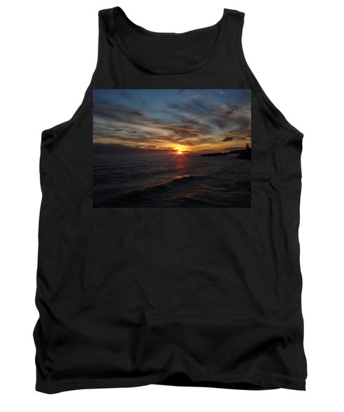 Tank Top featuring the photograph Sun Up by Bonfire Photography