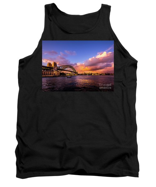 Tank Top featuring the photograph Sun Up by Perry Webster