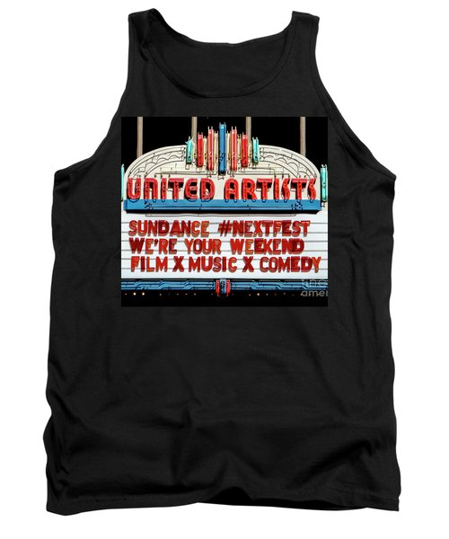 Sundance Next Fest Theatre Sign 1 Tank Top