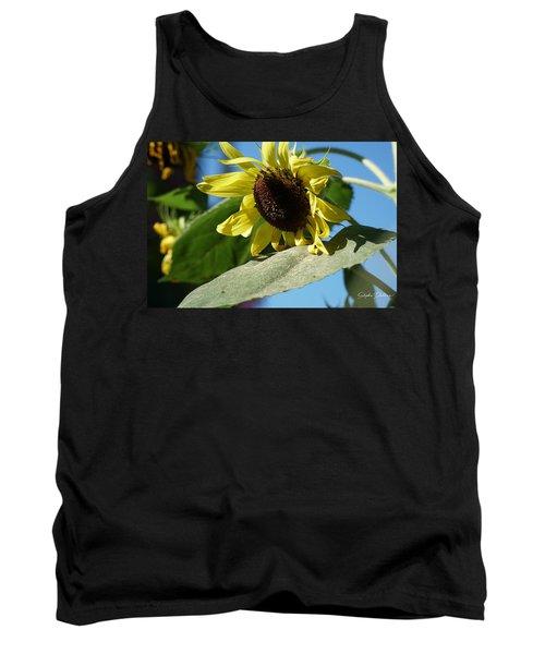 Sunflower, Lemon Queen, With Pollen Tank Top