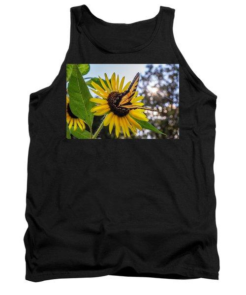 Sunflower Swallowtail Tank Top