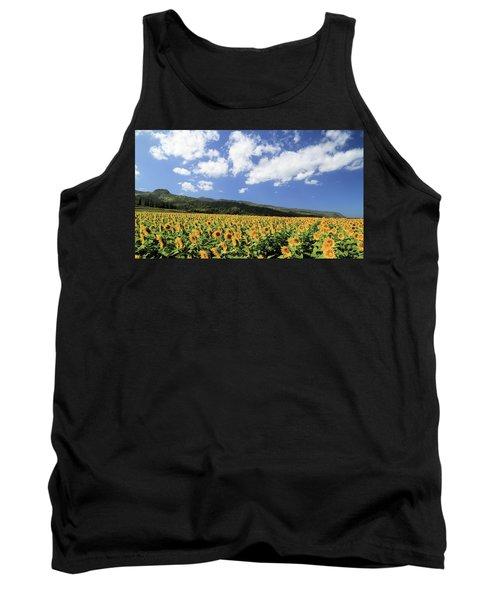 Sunflowers In Waialua Tank Top