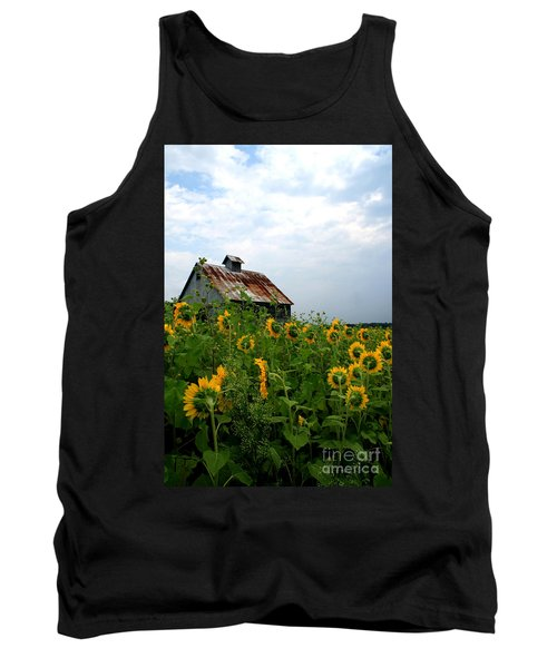 Sunflowers Rt 6 Tank Top