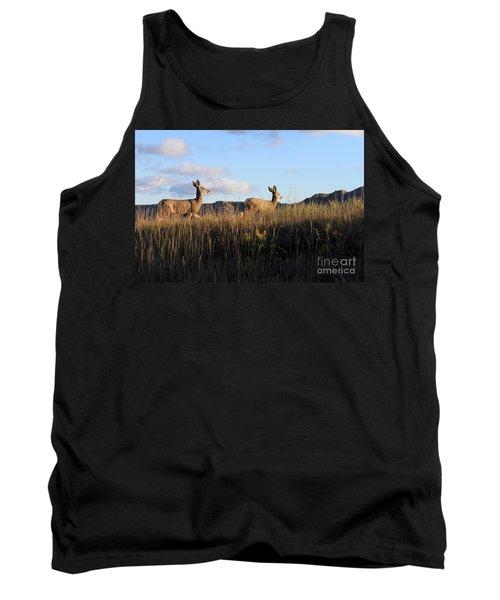 Sunlit Deer  Tank Top