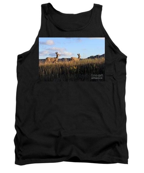 Sunlit Deer  Tank Top