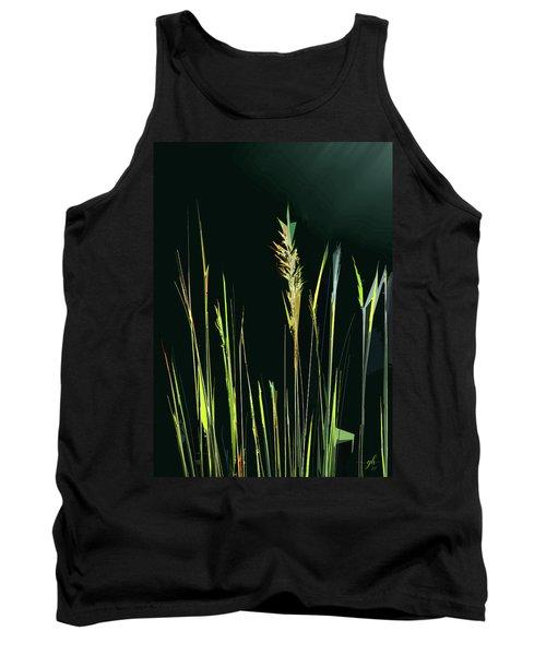 Sunlit Grasses Tank Top