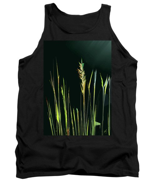 Sunlit Grasses Tank Top