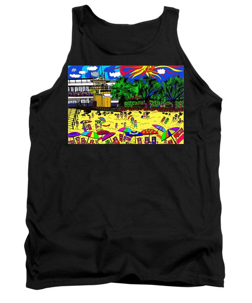 Sunny Day At The Beach Tank Top