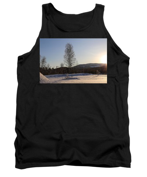 Sunny Day In Norway.  Tank Top