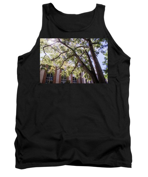 Tank Top featuring the photograph Sunny Days At Uga by Parker Cunningham