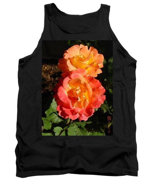 Sunny Roses Tank Top