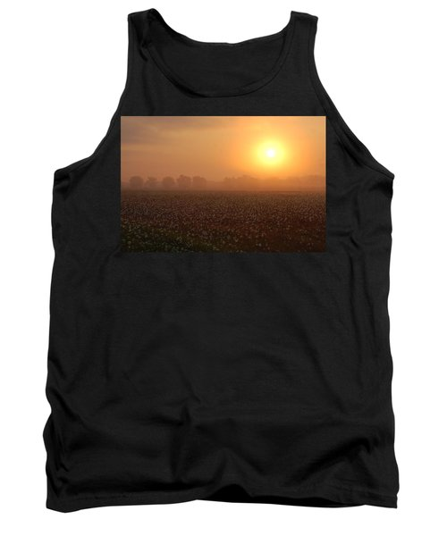 Sunrise And The Cotton Field Tank Top