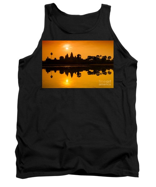 Sunrise At Angkor Wat Tank Top