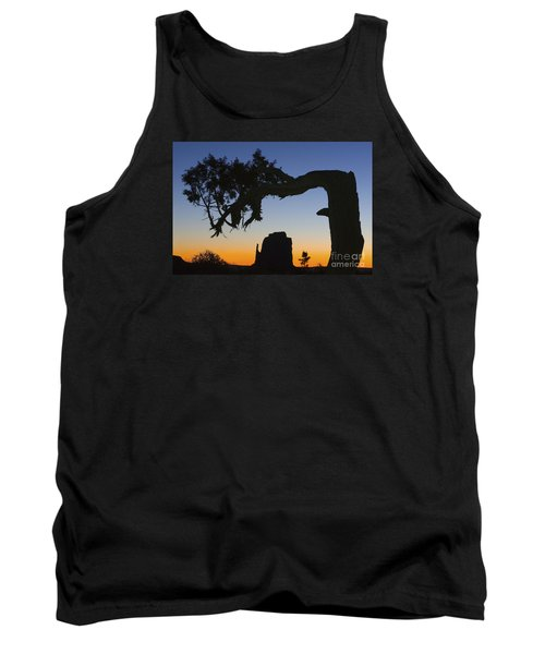 Tank Top featuring the photograph Sunrise At East Mitten by Jerry Fornarotto
