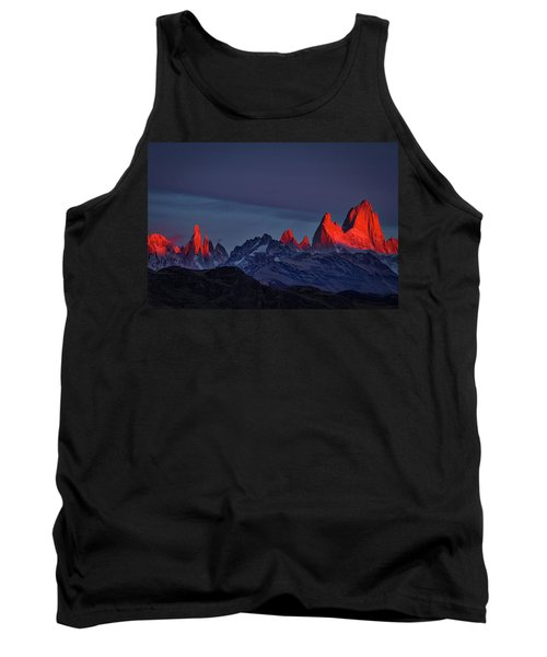 Sunrise At Fitz Roy #2 - Patagonia Tank Top