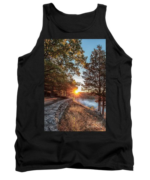 Sunrise At Great Bend Tank Top