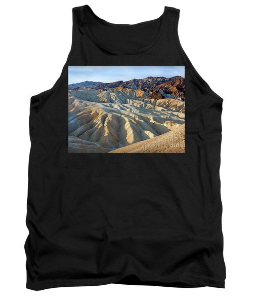 Sunrise At Zabriskie Point Tank Top