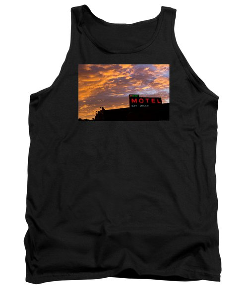 Tank Top featuring the photograph Sunrise Enters Capitola by Lora Lee Chapman