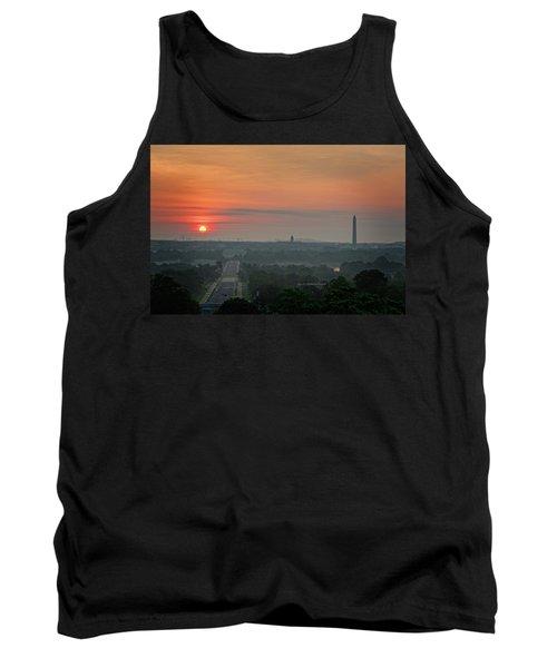 Sunrise From The Arlington House Tank Top