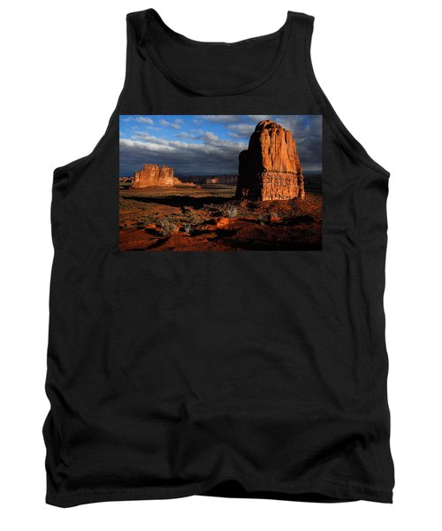 Sunrise La Sal Mountains Tank Top by Harry Spitz