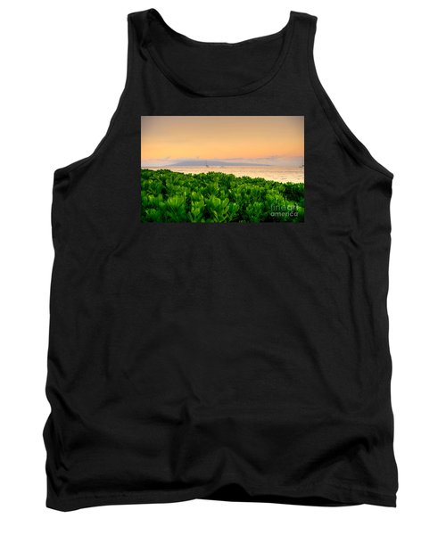 Tank Top featuring the photograph Sunrise On Maui by Kelly Wade