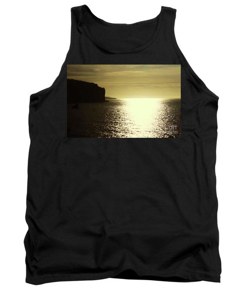 Tank Top featuring the photograph Sunrise On The Almalfi Coast by Polly Peacock