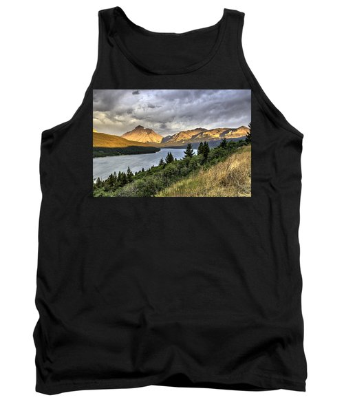 Tank Top featuring the photograph Sunrise On The Bitterroot River by Alan Toepfer