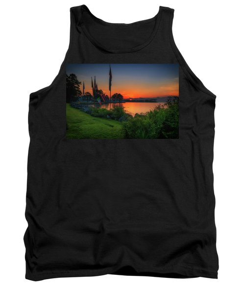 Sunrise On The Neuse 2 Tank Top