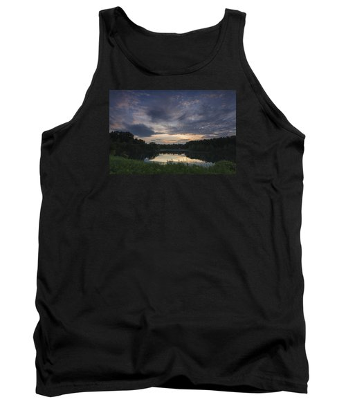 Sunrise Over Indigo Lake Tank Top
