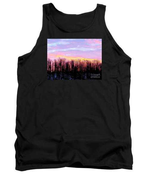 Sunrise Over Lake Tank Top by Craig Walters