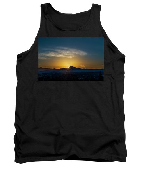 Sunrise Over Mt. Hood Tank Top