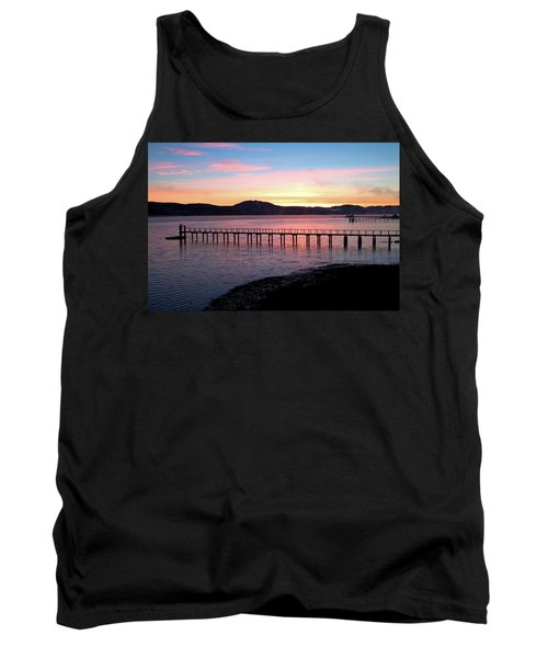 Sunrise Over Tomales Bay Tank Top