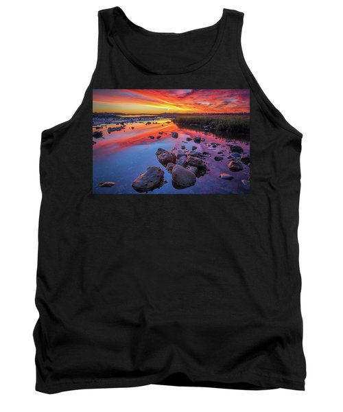 Sunrise Reflections In Harpswell Tank Top