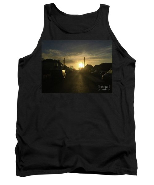 Sunrise Street Tank Top by Andrew Middleton