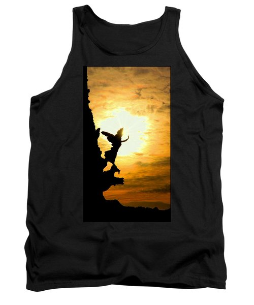 Sunset Angel Tank Top by Valentino Visentini