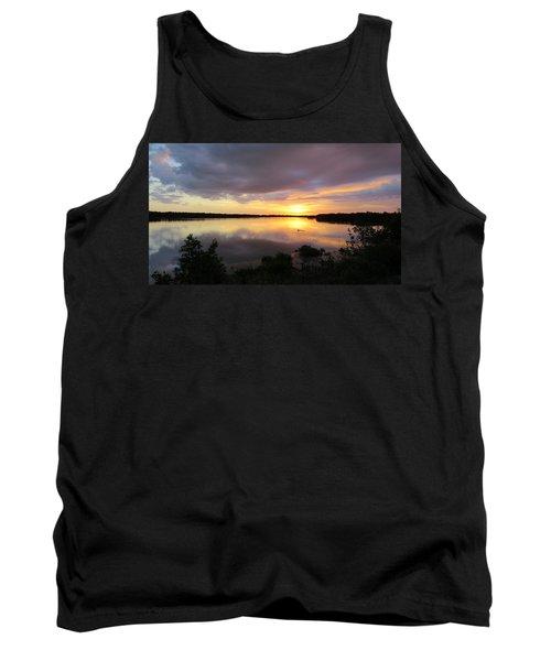Sunset At Ding Darling Tank Top