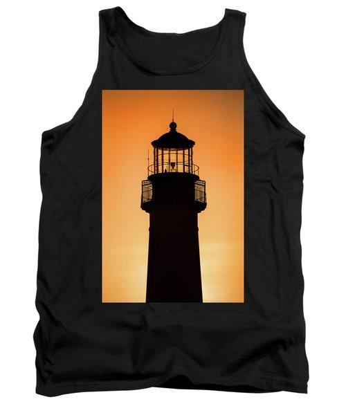 Sunset At Lighthouse Tank Top
