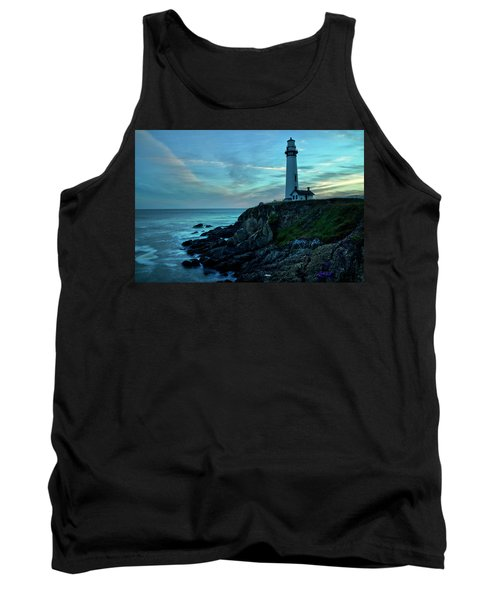 Sunset At Pigeon Point Tank Top