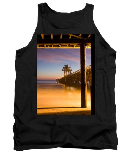 Sunset At San Clemente Tank Top