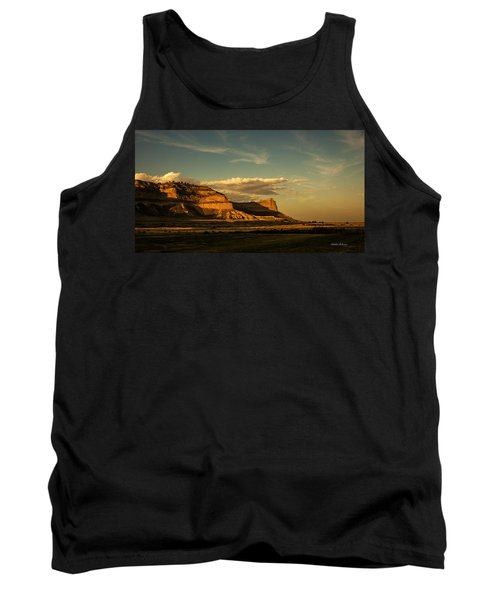 Sunset At Scotts Bluff National Monument Tank Top