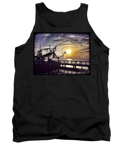 Sunset At Snoopy's Tank Top