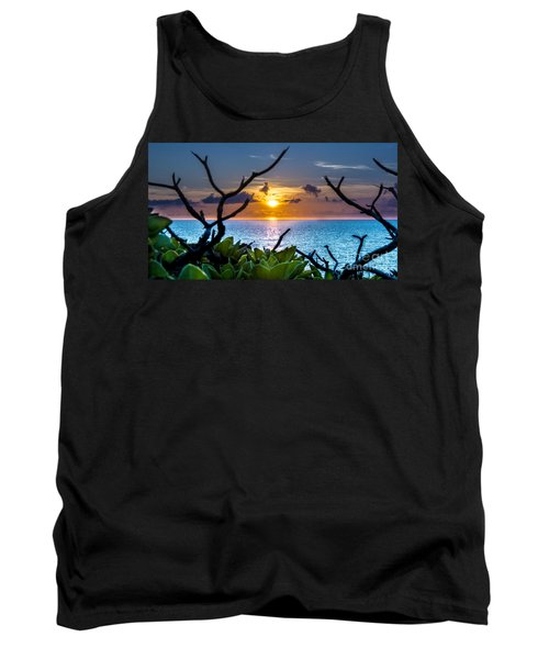 Sunset By The Point Tank Top