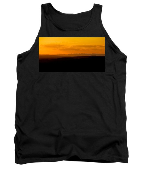 Tank Top featuring the photograph Sunset by Evgeny Vasenev
